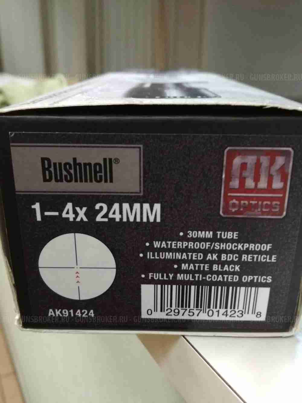 НОВЫЙ BUSHNELL AK OPTICS 1-4*24