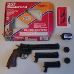 Crosman 357-Shooter kit