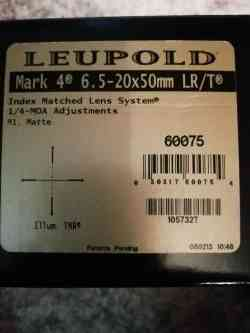 Lepold Mark 4, 6,5-20x50