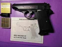 MOD.WALTHER  PP, cal.9mm P.A. Cnall
