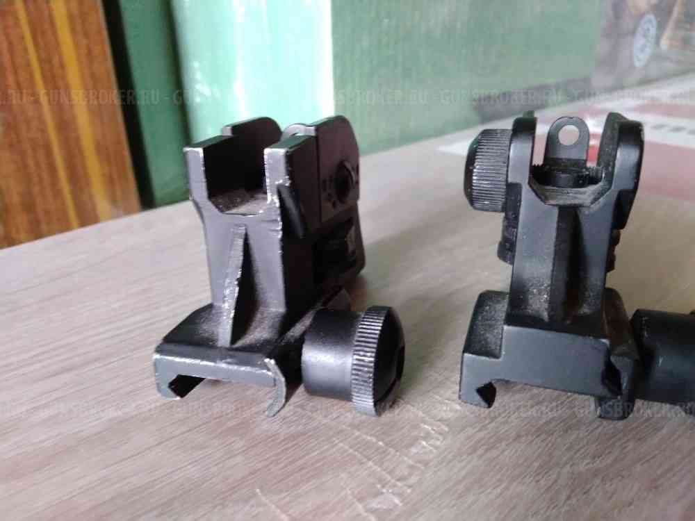 AR-15 Tactical Adjustable Rear Sight Assembly