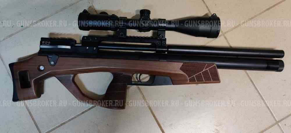 horhe jager sp 6.35 булл-пап, орех, нарезной ствол, (завод кспз)